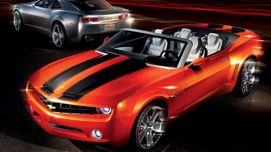cars Chevrolet Camaro ZL1 Convertible wallpaper