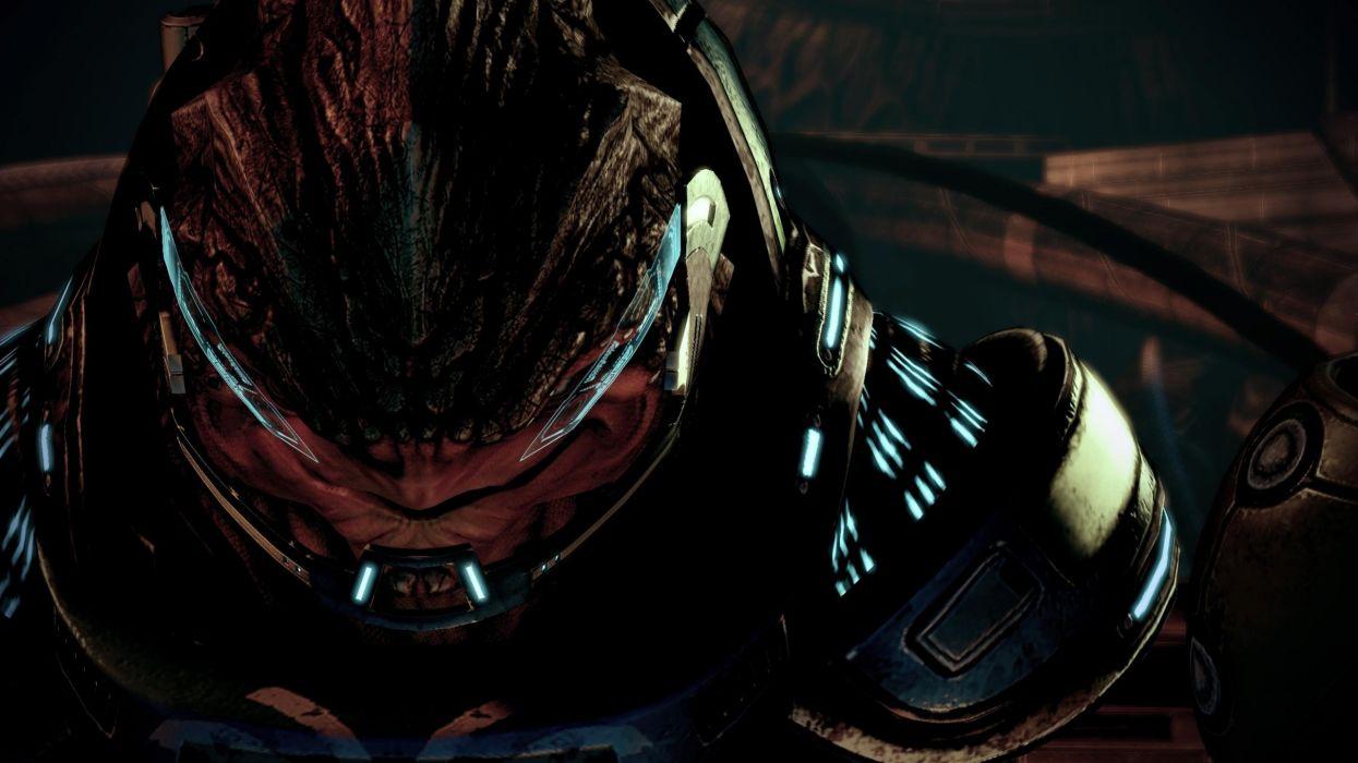 screenshots grunt Mass Effect 2 krogan wallpaper