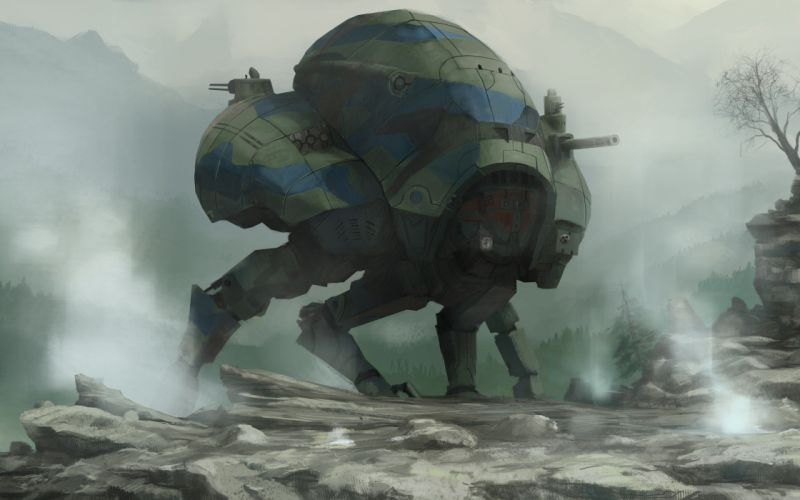 robots mecha Android mechanical creature wallpaper