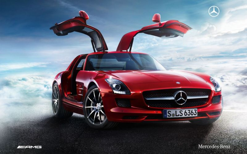 cars AMG Mercedes-Benz SLS AMG Mercedes-Benz German cars automobiles wallpaper