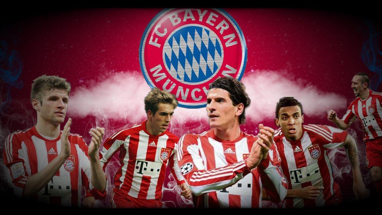 FC Bayern Munich Philipp Lahm Franck Ribery Mario Gomez Thomas MAIA wallpaper