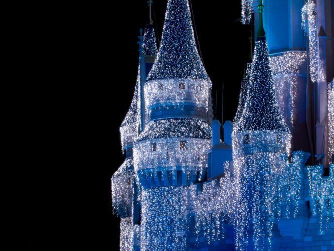Disney Company castles wallpaper