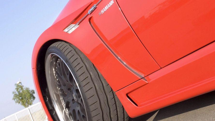 BMW cars red cars Hamann BMW M6 wallpaper