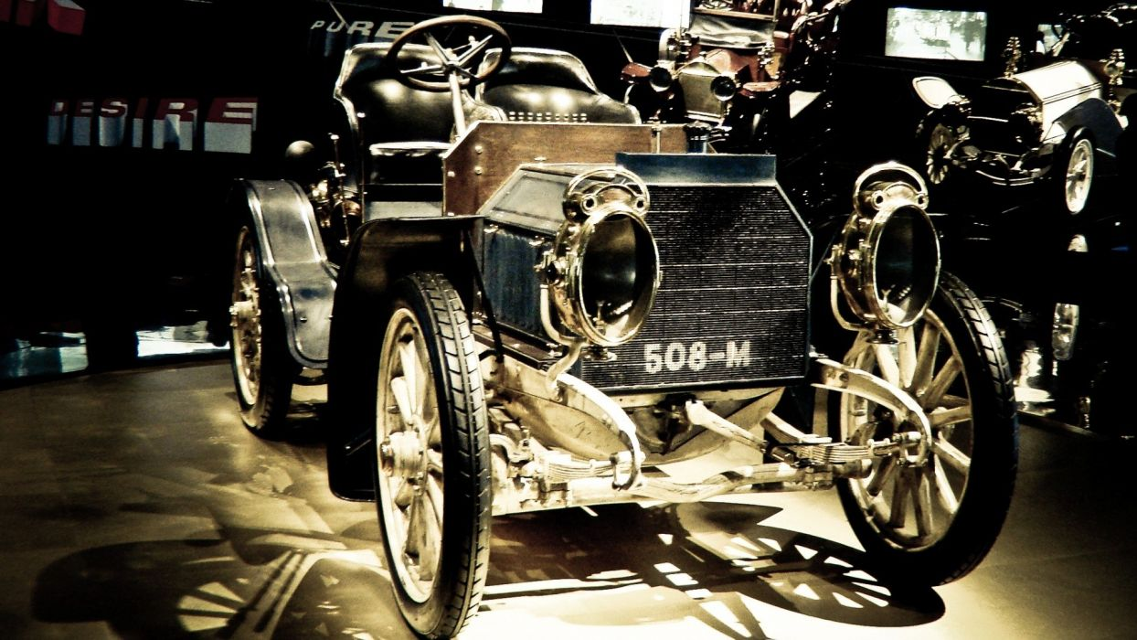 cars gold vehicles old cars antique Mercedes-Benz wallpaper