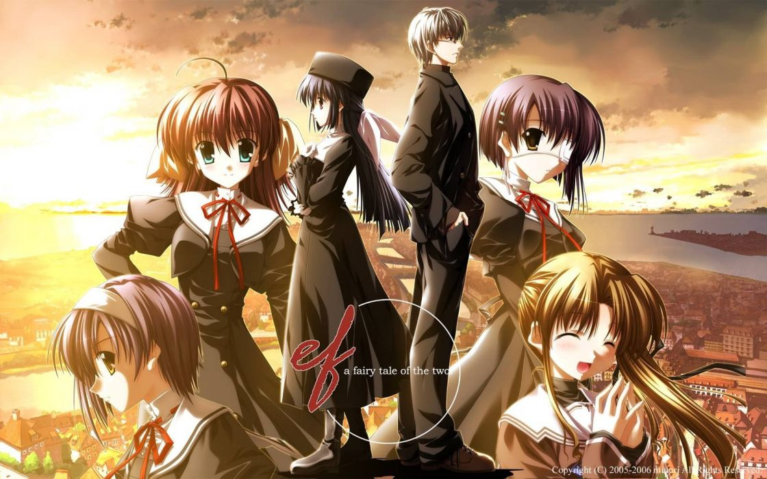 Ef A Tale Of Memories Anime Wallpaper 1600x1000 308977 Wallpaperup