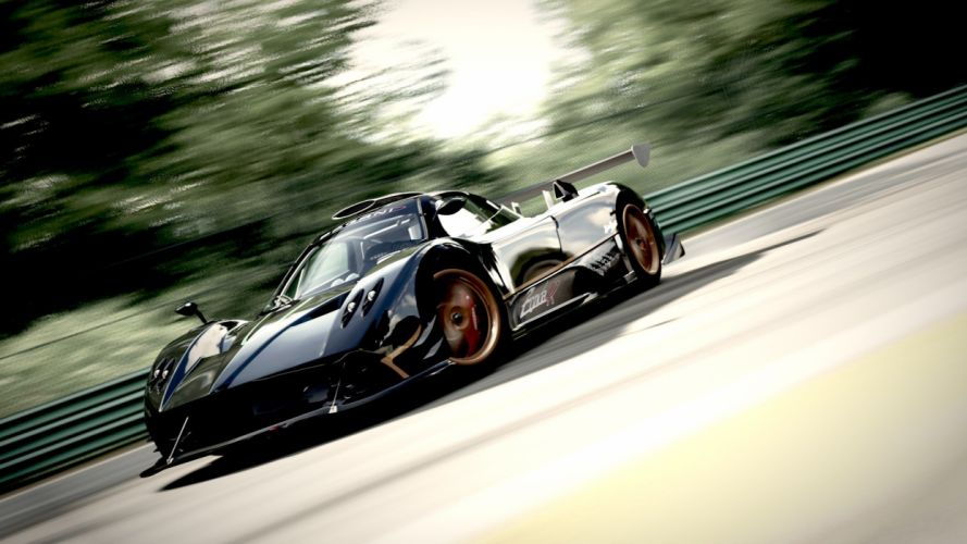 cars Pagani Zonda R wallpaper