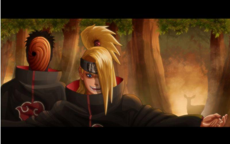 Naruto: Shippuden Akatsuki Deidara Tobi wallpaper