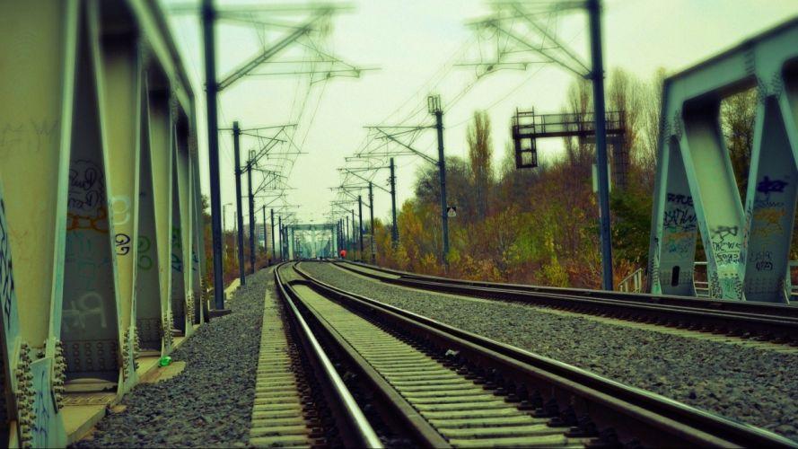 trains railroads wallpaper