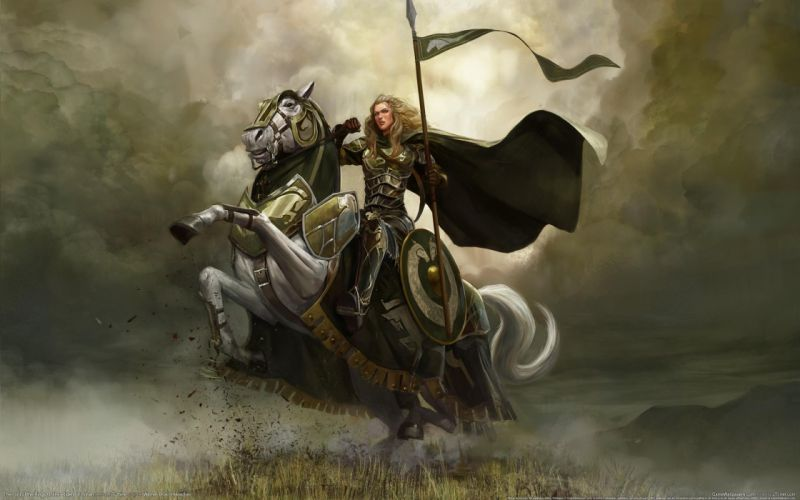The Lord of the Rings horses artwork The Riders of Rohan Rohan online Lord of the Rings: Online wallpaper
