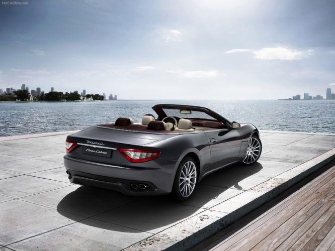 cars vehicles Maserati GranCabrio wallpaper