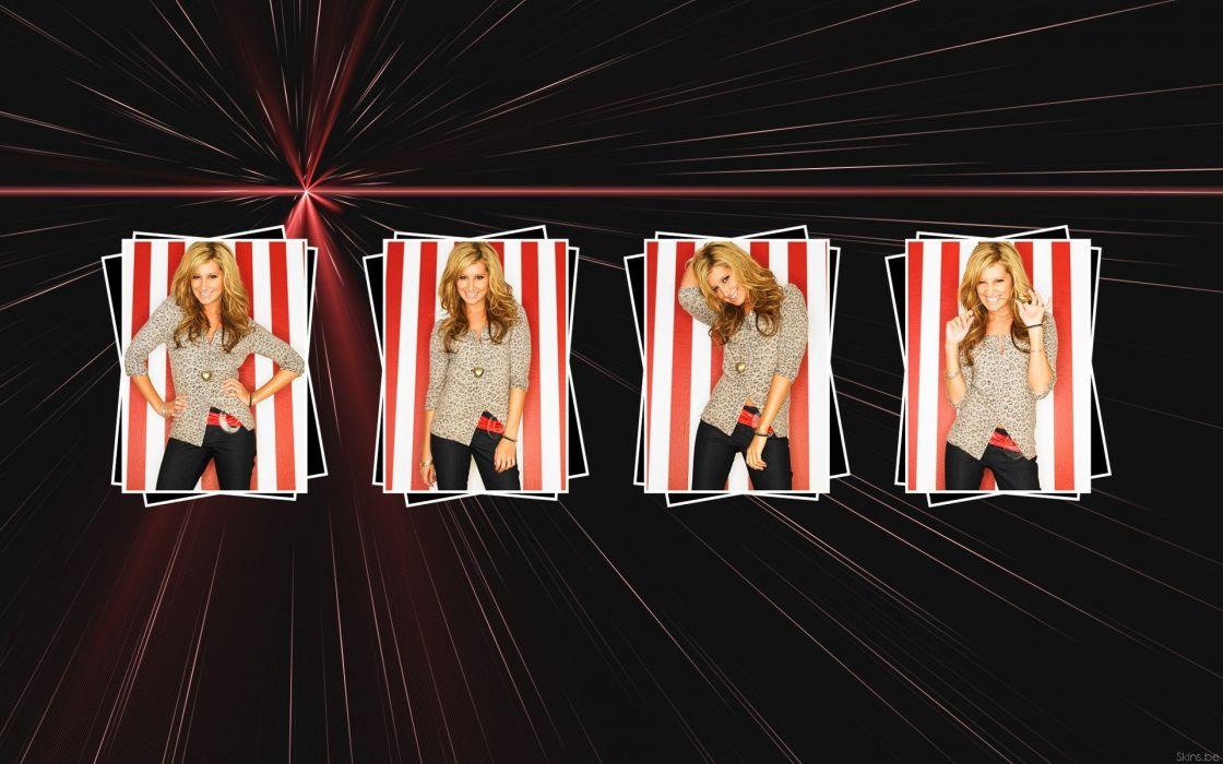 blondes women long hair celebrity Ashley Tisdale wallpaper
