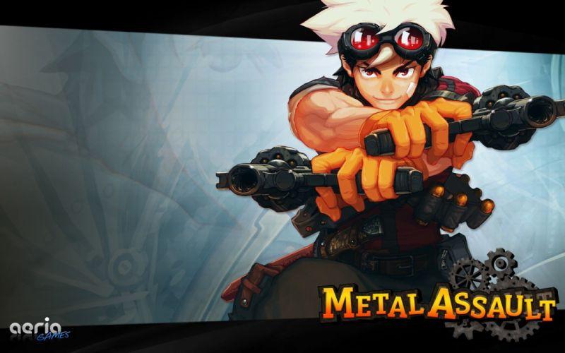 video games anime Metal Assault wallpaper