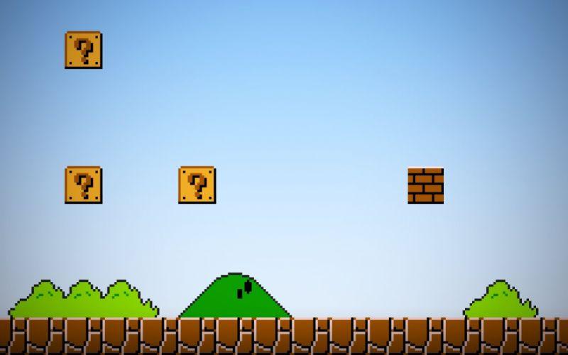 video games Mario wallpaper
