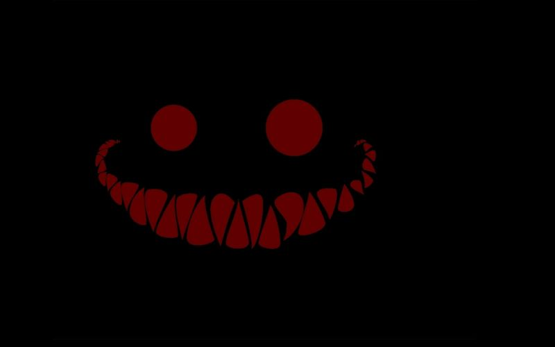 Cheshire Cat simple background wallpaper