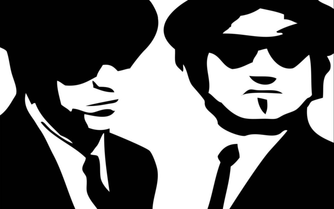 Black And White God Blues Brothers The Wallpaper