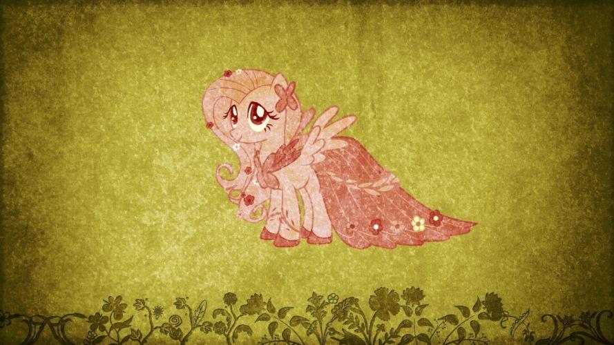 grunge My Little Pony Fluttershy wallpaper
