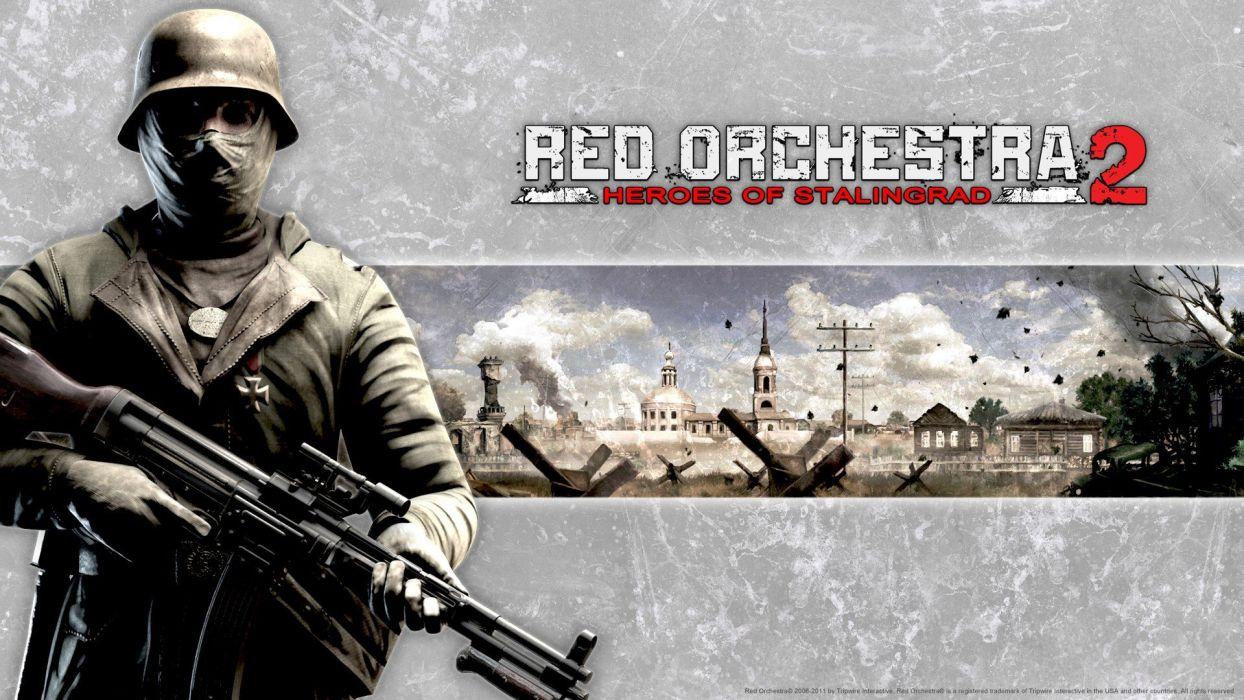 World War II red orchestra Heroes Of Stalingrad wallpaper