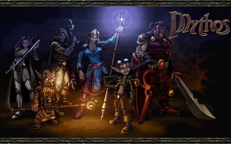 video games Mythos wallpaper