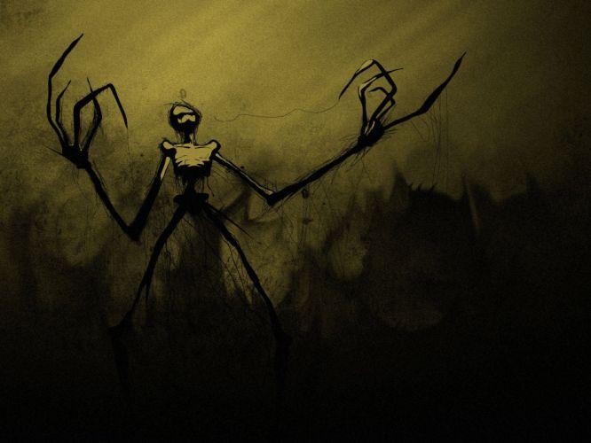 horror fantasy art artwork wallpaper