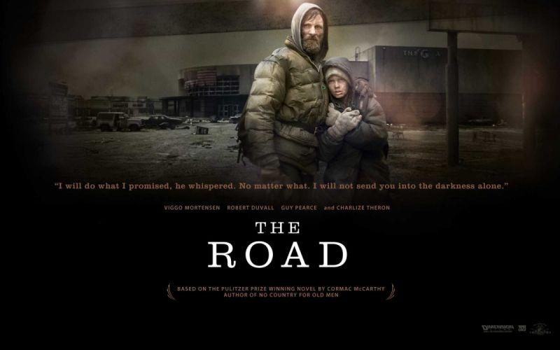 movies post-apocalyptic quotes The Road Viggo Mortensen wallpaper
