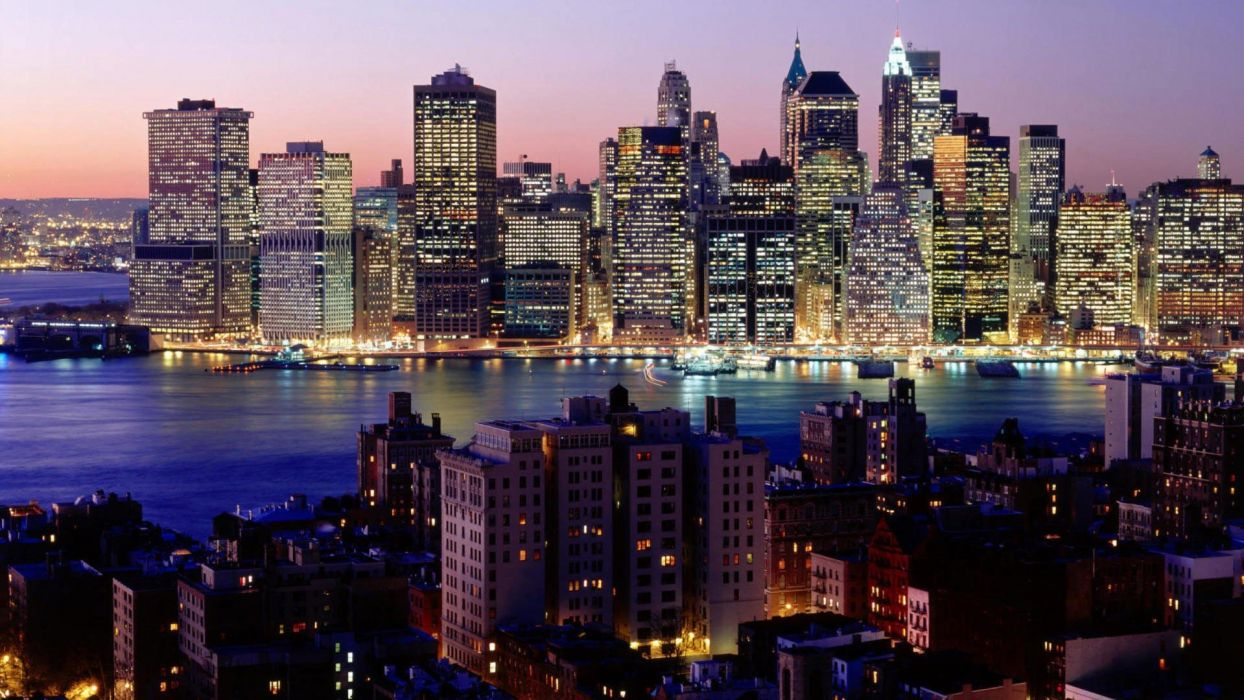 cityscapes towns town view wallpaper