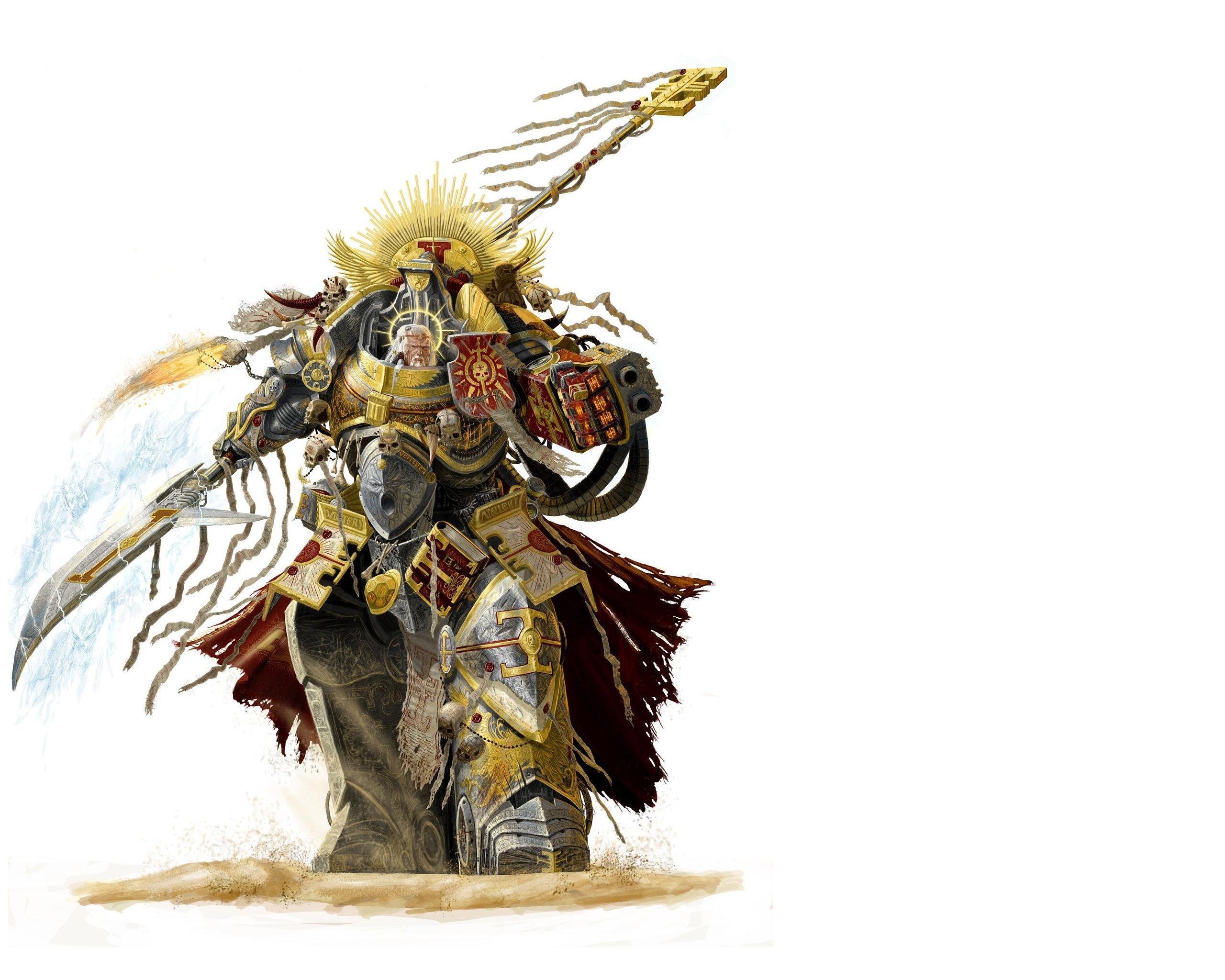 Artwork Warriors Grey Knights Space Marine Warhammer 40 000