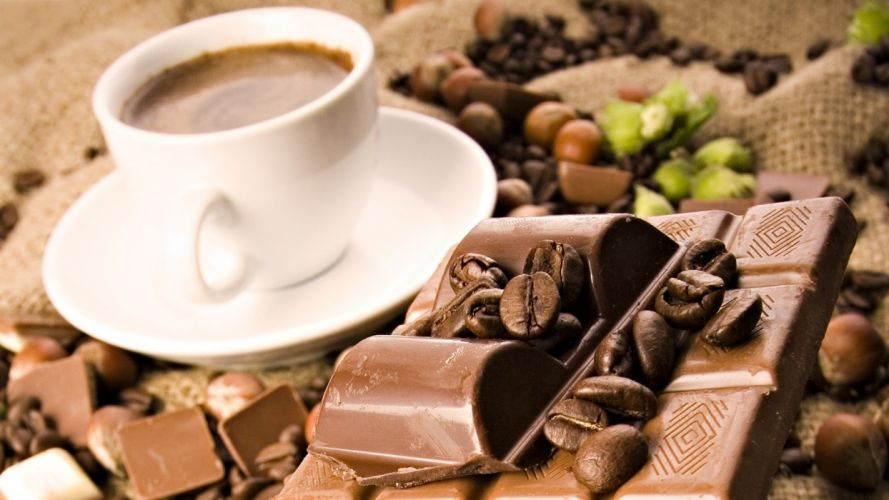 coffee chocolate coffee beans wallpaper