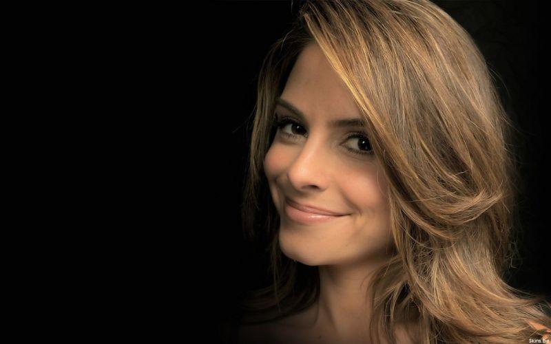 brunettes women close-up actress greek Maria Menounos tv personality wallpaper