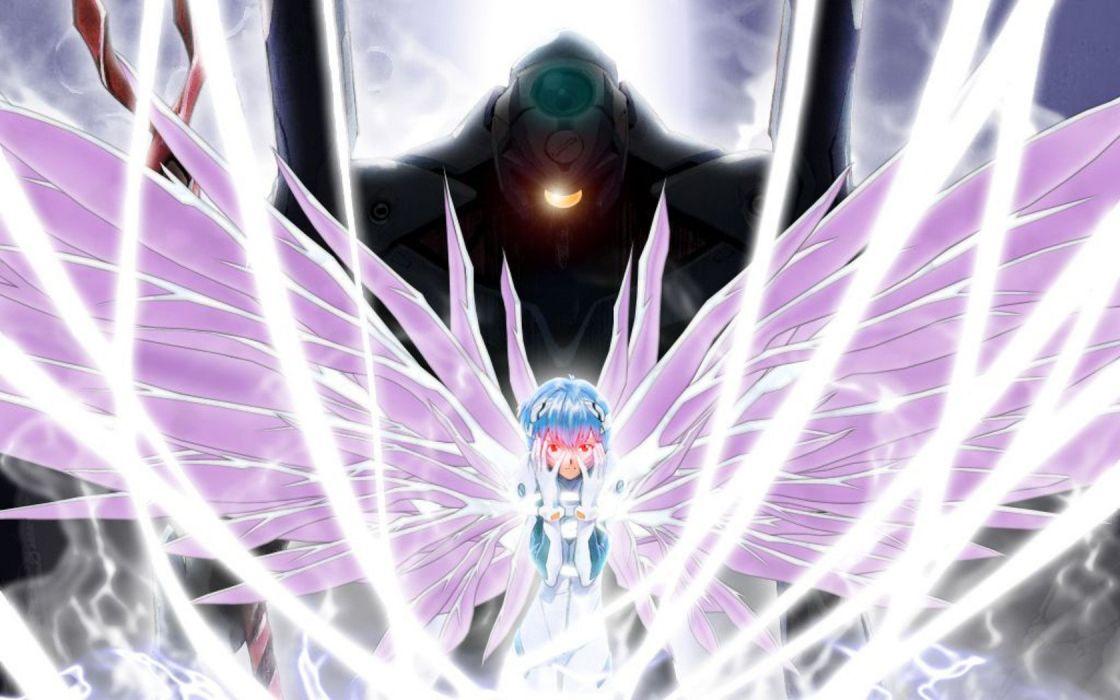 Ayanami Rei Neon Genesis Evangelion End of Evangelion wallpaper
