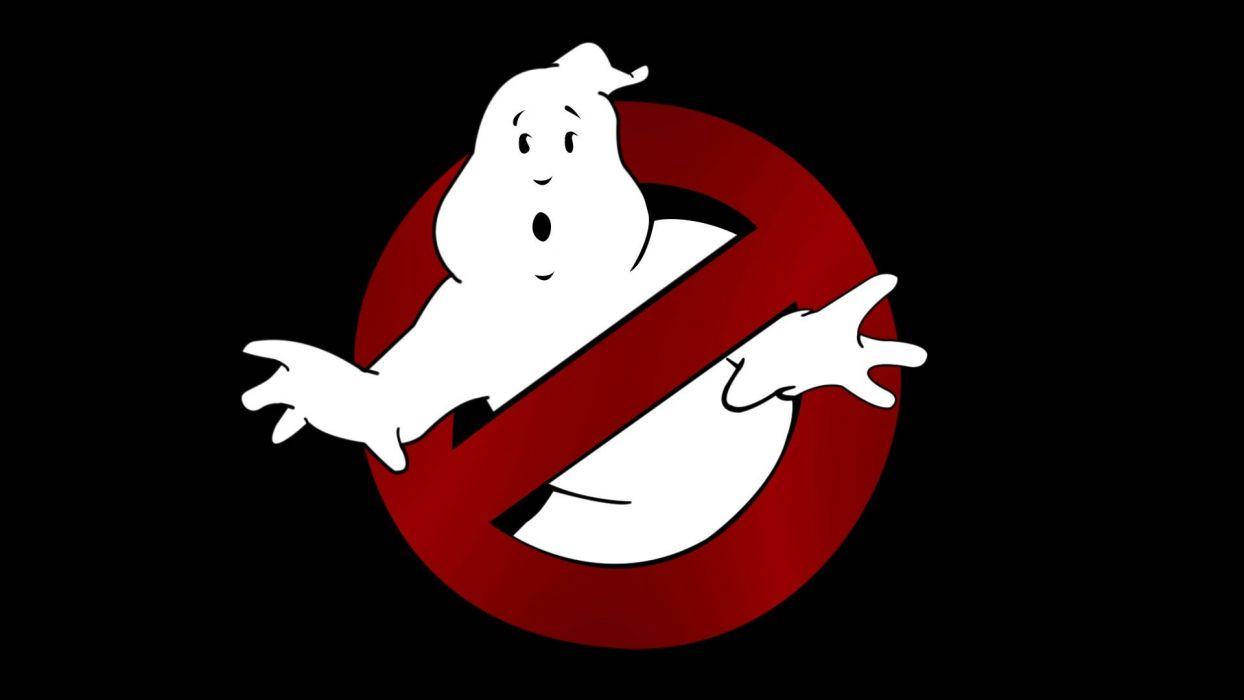 USA comedy Ghostbusters logos logo design wallpaper