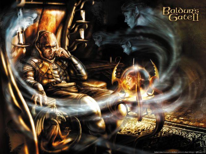 wizard video games Baldurs Gate wallpaper