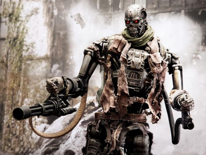 Terminator cyborgs Terminator Salvation wallpaper