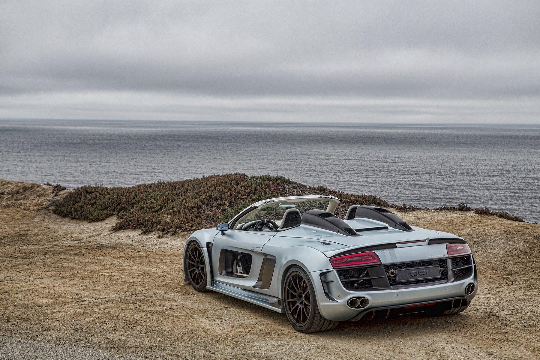 Audi R By QQi Razor Wallpaper WallDevil