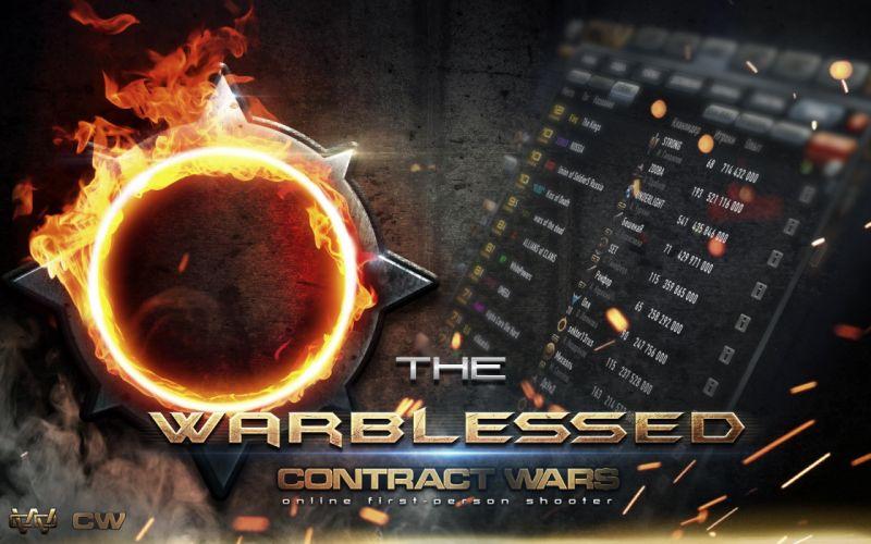 Contract wars online poster wallpaper