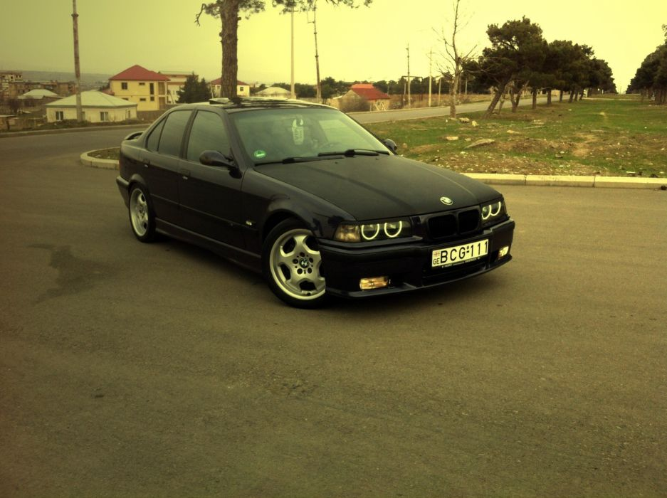 e36 BCG-111 BMW tuning      g wallpaper