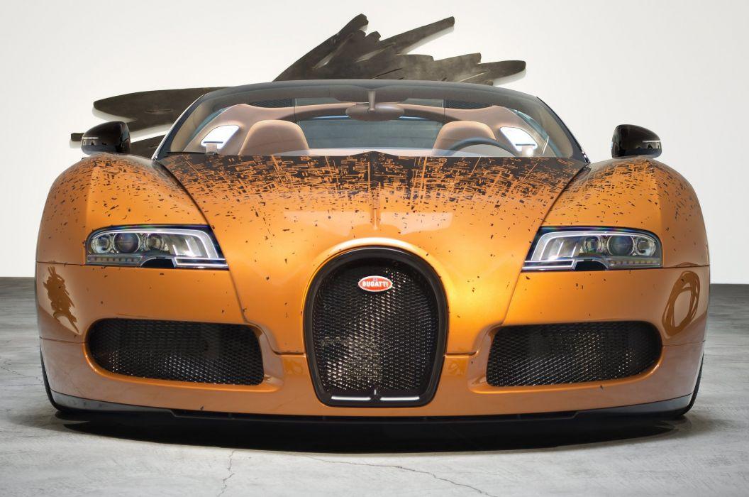 front Bugatti Veyron Grand Sport Venet supercar wallpaper