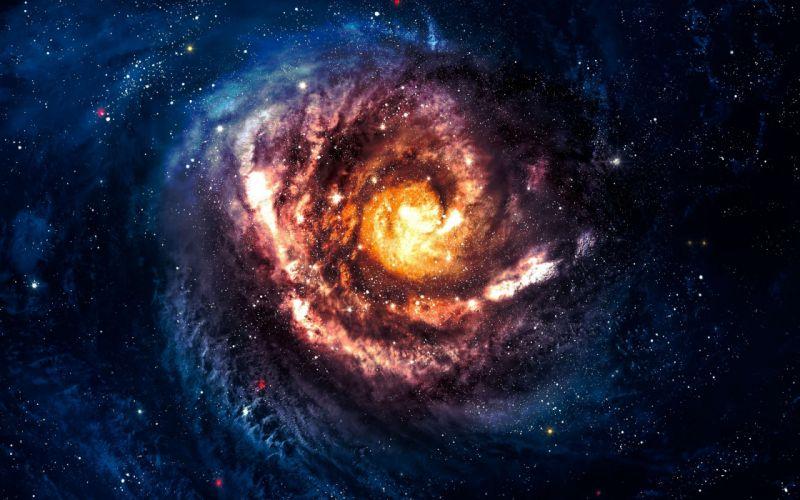 galaxy space stars wallpaper