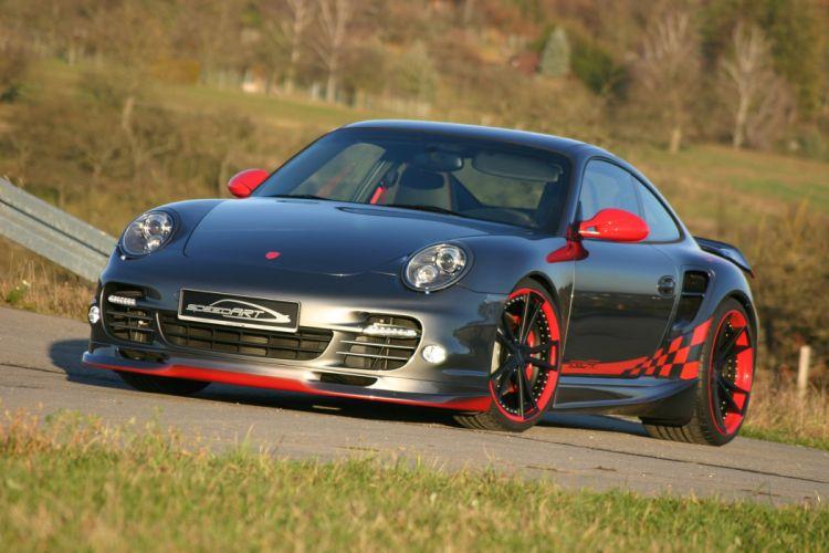 graphite Porsche 911 speedart btr 580 tuning supercar wallpaper