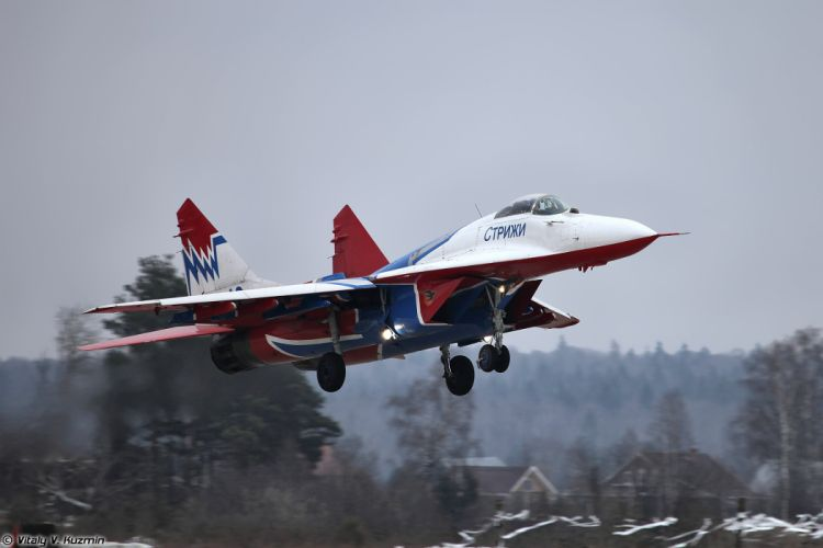 Paralympic Torch Relay and demo flights in Kubinka russian jet fighter Su-27UB Russian Knights aerobatics team wallpaper