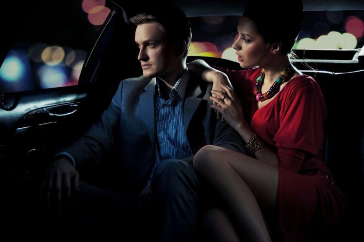 couple girl bokeh boy car mood love style fashion situation wallpaper