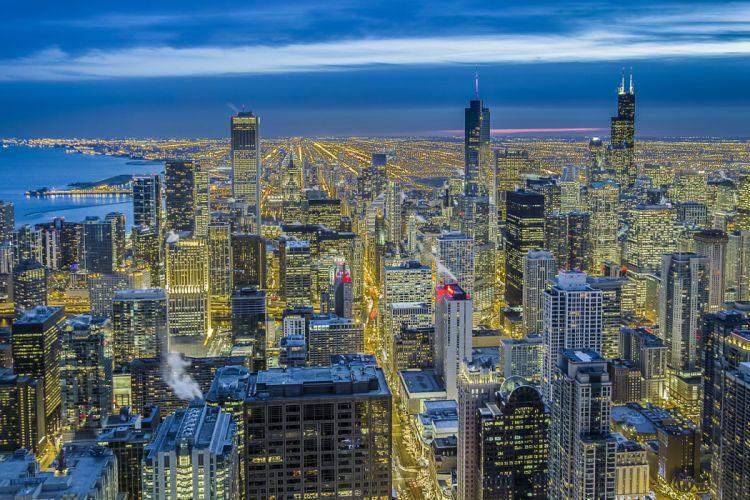 Illinois Chicago skyscraper wallpaper