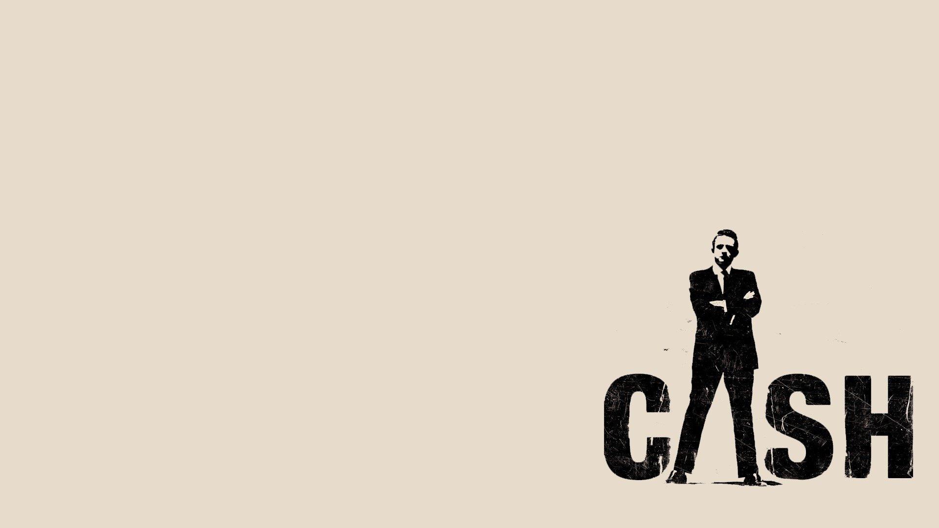Johnny cash country music minimal wallpaper 1920x1080 - Cash wallpaper ...