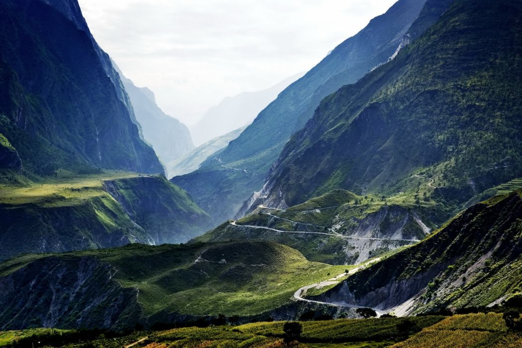 Lijiang landscape nature tibet China mountain wallpaper