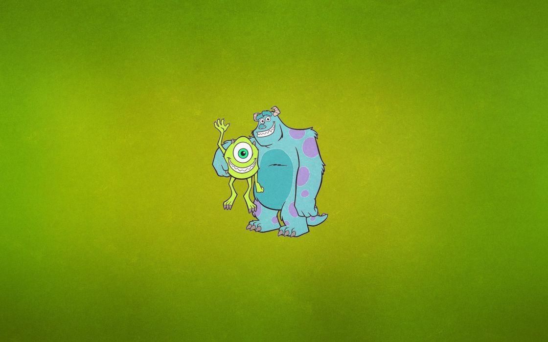 Monsters University Vector Graphics Cartoons wallpaper