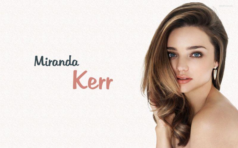 Miranda Kerr model beauty poster g wallpaper