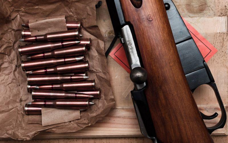 rifle Mosin trehlineyka bolt bullets weapon gun military rifle wallpaper