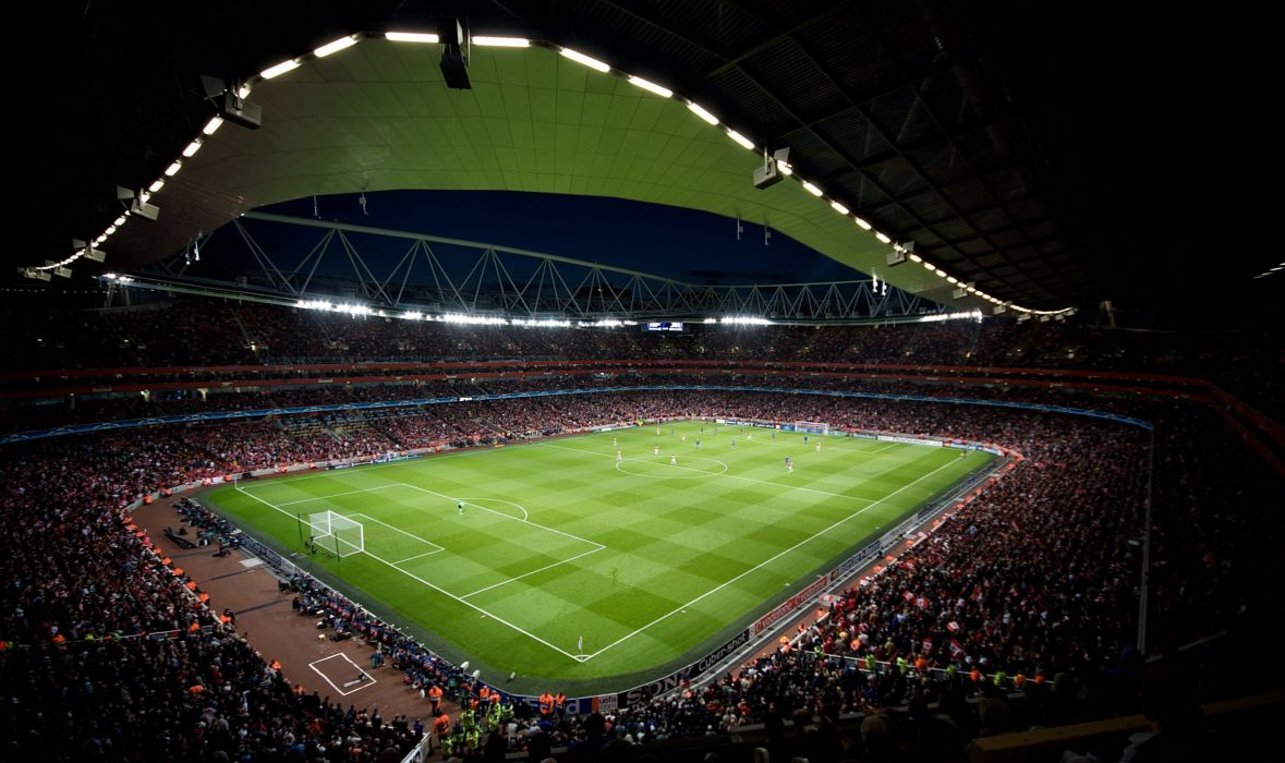 stadium emirates champions league soccer wallpaper