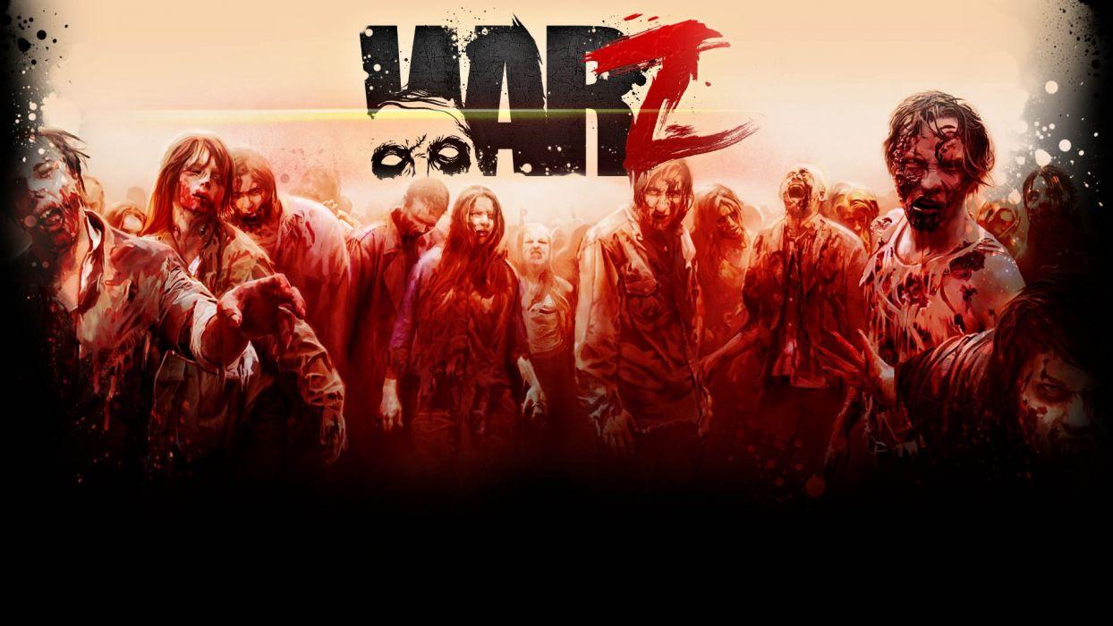 The WarZ Zombie poster dark zombie    v wallpaper