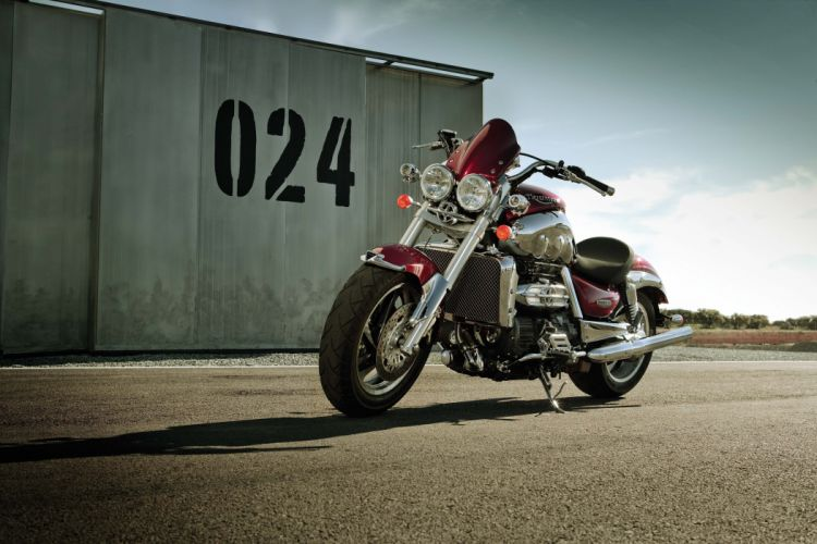 triumph rocket wallpaper