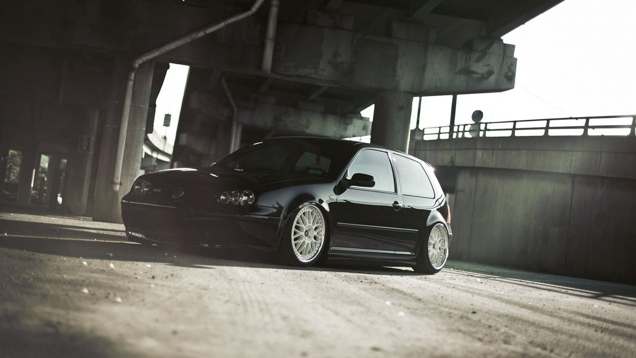 volkswagen golf tuning    h wallpaper
